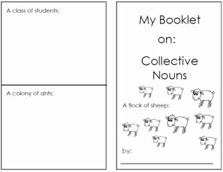 "Types Of Nouns Worksheet Best Of Lots Of ""little Books"" for Different topics Free"