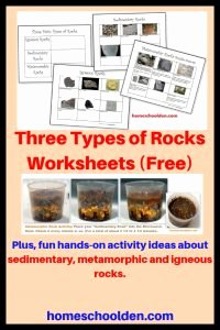 Types Of Rock Worksheet Fresh the Three Types Of Rocks Our Activities and A Free