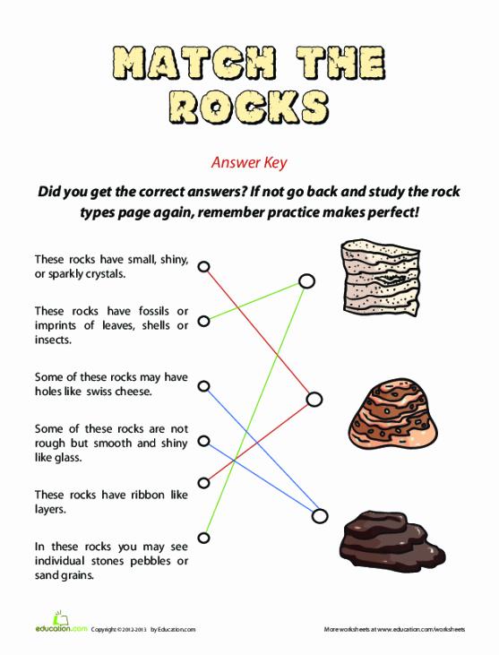 Types Of Rocks Worksheet Pdf Beautiful Types Of Rocks Worksheet