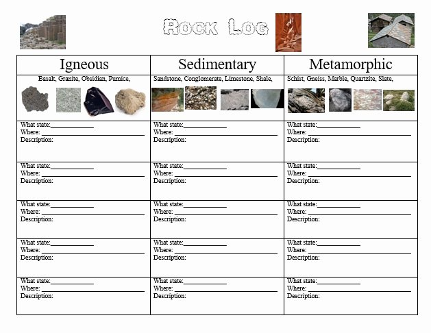 Types Of Rocks Worksheet Pdf Lovely 3 Types Rocks Worksheet the Best Worksheets Image