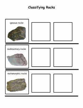 Types Of Rocks Worksheet Pdf New Rock Cycle Classifying Rocks by Interactive Creations