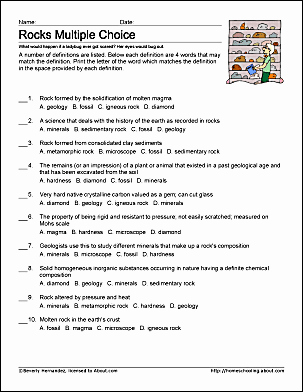 Types Of Rocks Worksheet Pdf New Rocks Work Sheets and Coloring Pages