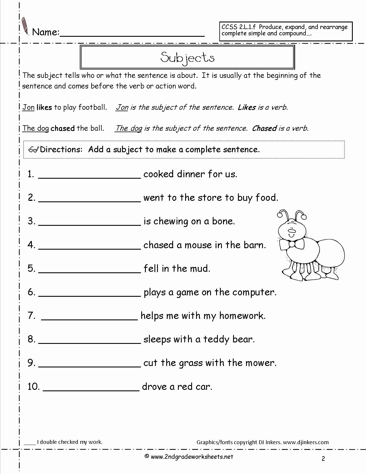 Types Of Sentences Worksheet Unique Sentences Worksheets From the Teacher S Guide