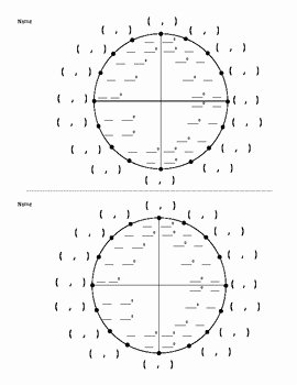 Unit Circle Practice Worksheet Beautiful Best 25 Blank Unit Circle Ideas Only On Pinterest