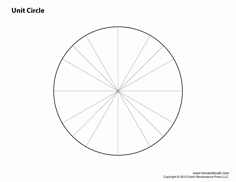 Unit Circle Practice Worksheet Lovely Blank Unit Circle Tim S Printables