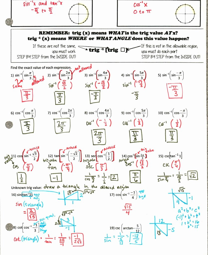 Unit Circle Practice Worksheet Unique Precal Files Dude I Could Trig All Day – Insert Clever