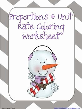 Unit Rate Word Problems Worksheet Beautiful Proportions and Unit Rate Coloring Worksheet