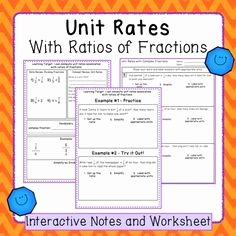 Unit Rate Worksheet 7th Grade Luxury Scale Drawings Practice Worksheets and assessment 7 G 1