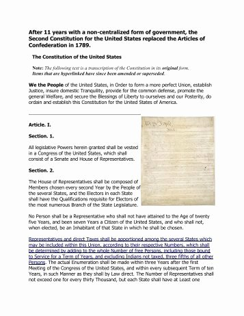 United States Constitution Worksheet Best Of Pos 301 Week 2 Principles and Articles Of the United
