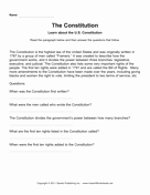 United States Constitution Worksheet Best Of social Stu S Worksheets — Page 18