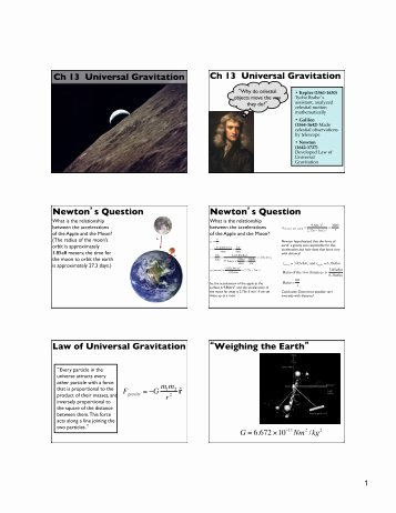 Universal Gravitation Worksheet Answers Lovely Universal Gravitation Worksheet Answers
