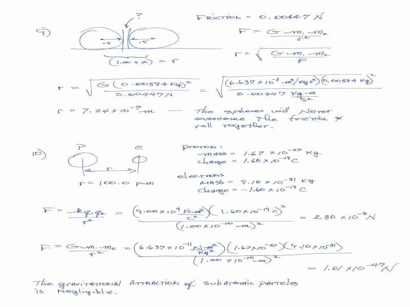 Universal Gravitation Worksheet Answers Luxury Universal Gravitation Worksheet