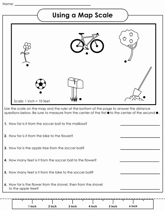 Using A Map Scale Worksheet Awesome Scale Factor Worksheet Scale Factor Worksheets for