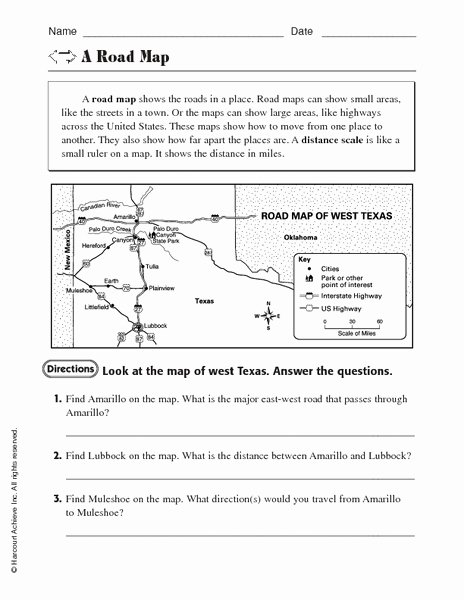 Using A Map Scale Worksheet Elegant Free Map Scale Lesson Plans & Worksheets Reviewed by Teachers