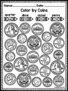 Values Of Coins Worksheet Best Of 30 Identifying Coins and Coin Values Worksheets