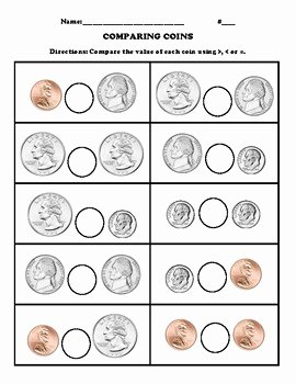 Values Of Coins Worksheet Lovely Paring Coins Value by Monica Villarreal
