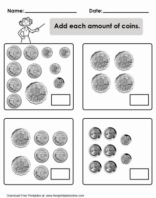 Values Of Coins Worksheet Unique 1000 Images About Math & More On Pinterest