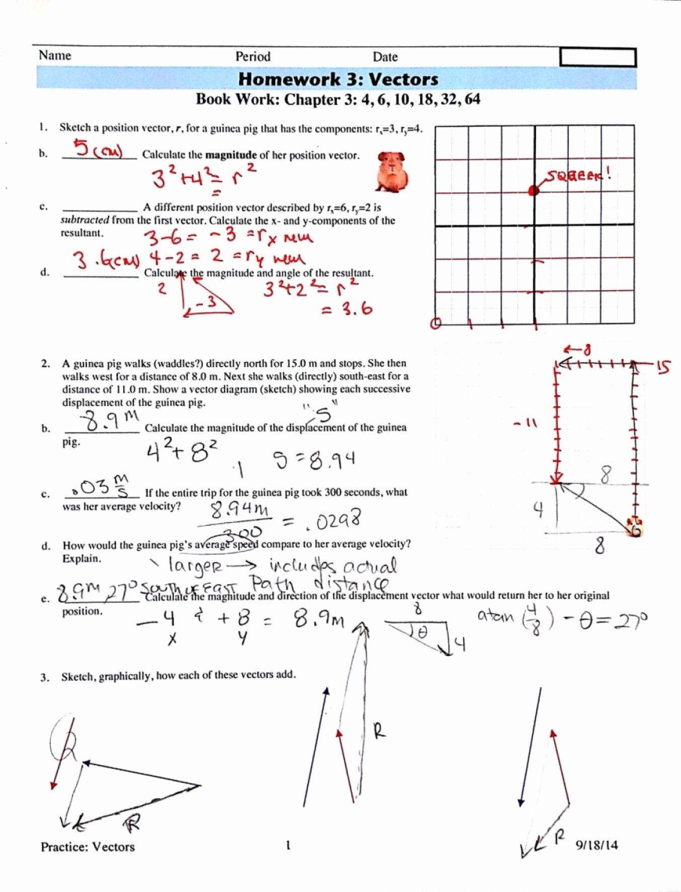 Vector Addition Worksheet with Answers Best Of Best top Vector Addition Worksheet with Answers Image Li
