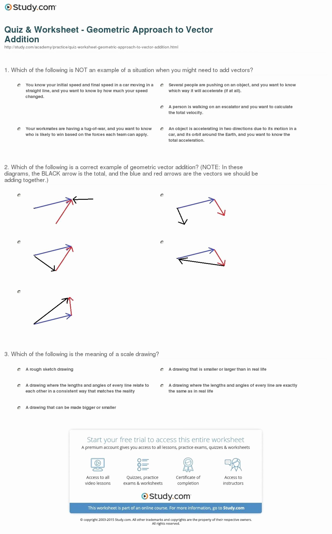 Vector Addition Worksheet with Answers Best Of Vectors Parallelogram Method Worksheet