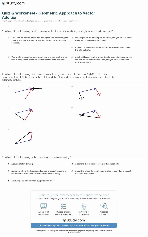 Vector Addition Worksheet with Answers Best Of Vectors Parallelogram Method Worksheet