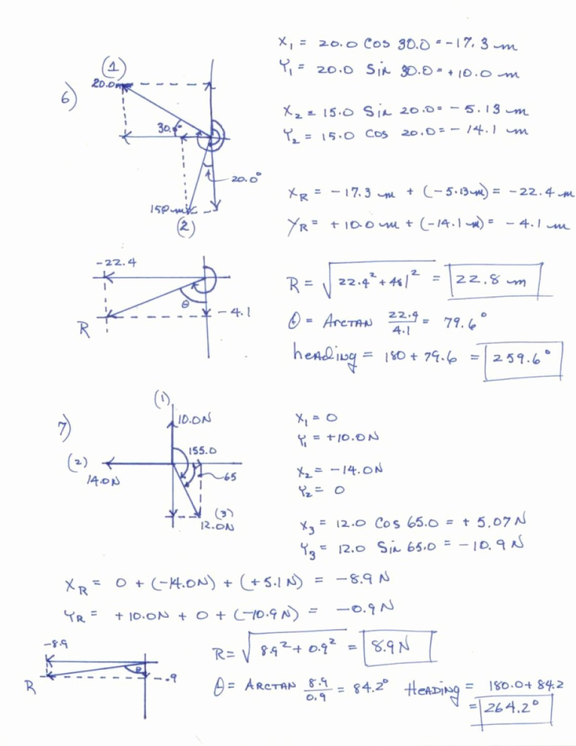 Vector Addition Worksheet with Answers Luxury Resultant Vectors Worksheets Answers