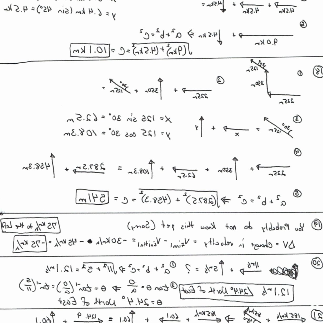 Vector Worksheet Physics Answers Awesome Resultant Vectors Worksheets Answers