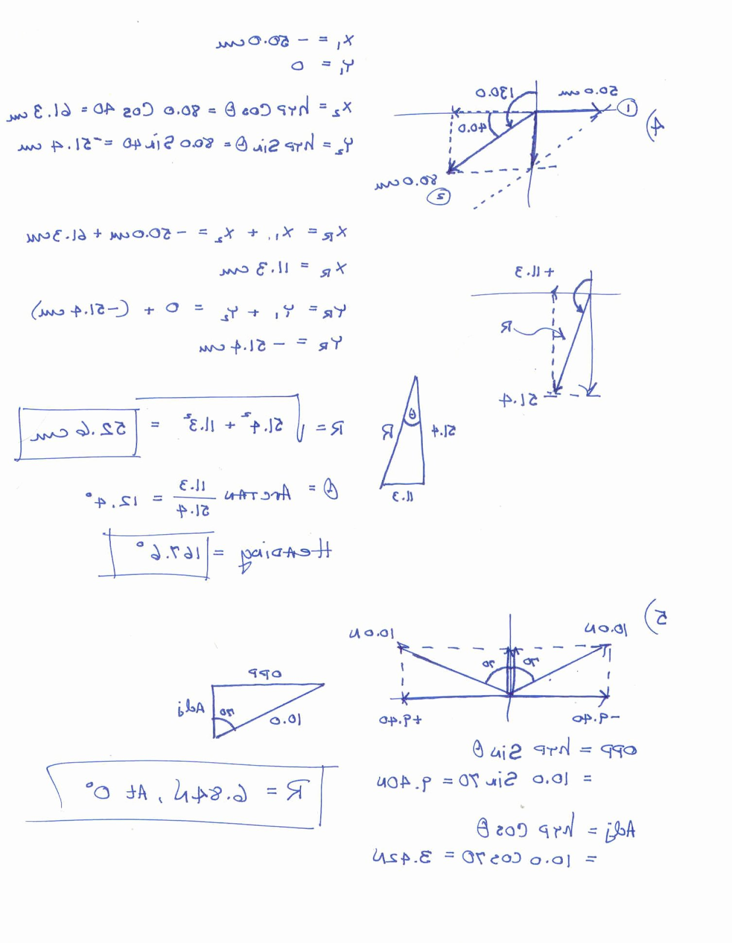 Vector Worksheet Physics Answers Elegant Resultant Vectors Worksheets Answers