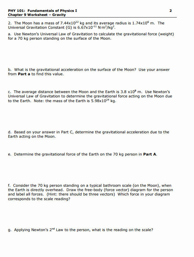 Vector Worksheet Physics Answers Unique solved Phy 101 Fundamentals Physics I Chapter 9 Works