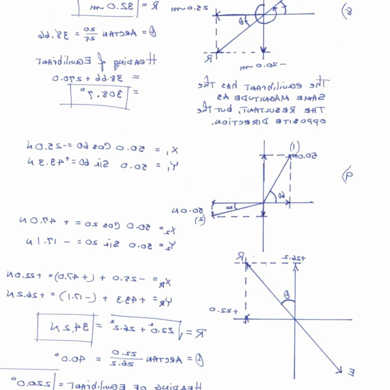 Vectors Worksheet with Answers Beautiful Resultant Vector Worksheet