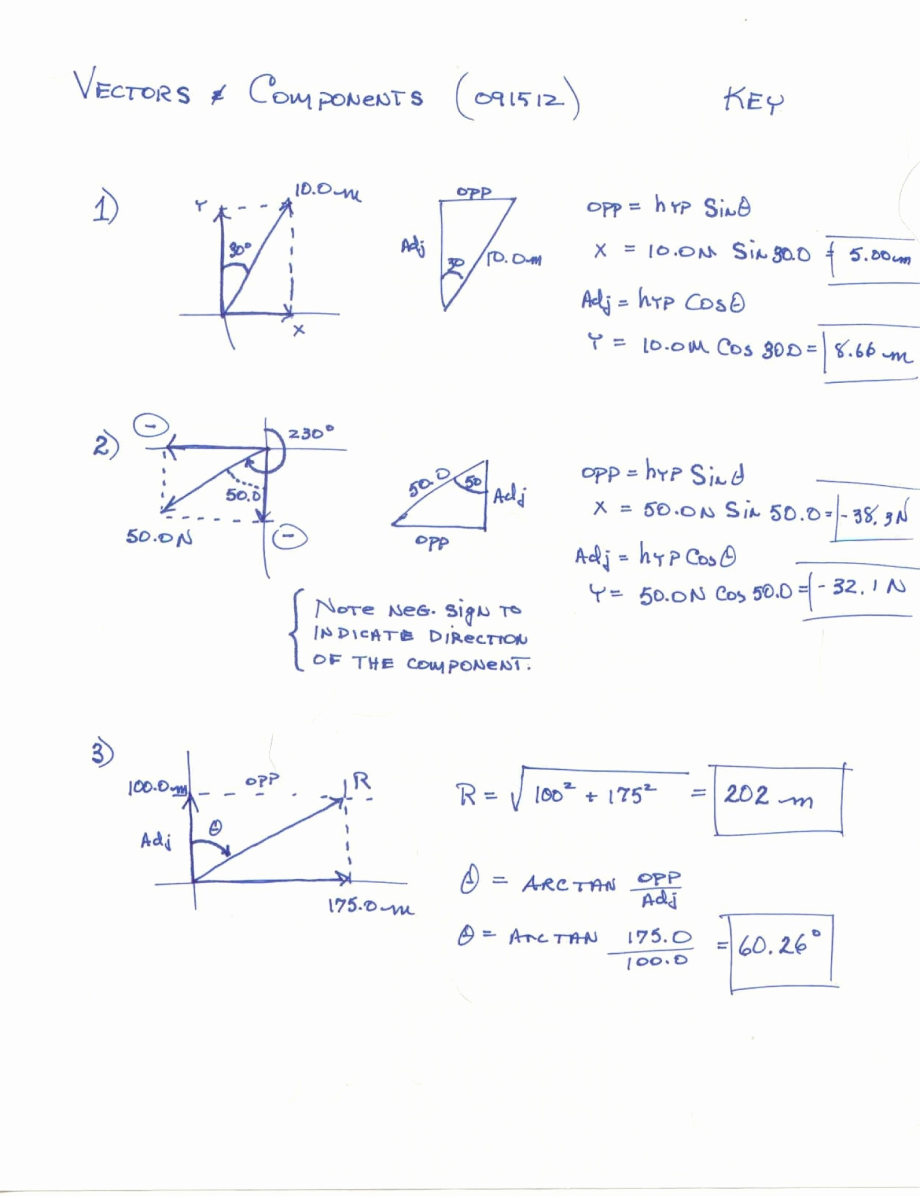 Vectors Worksheet with Answers Fresh Resultant Vector Worksheet
