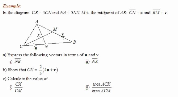 Vectors Worksheet with Answers Inspirational Vector Geometry solutions Examples Videos