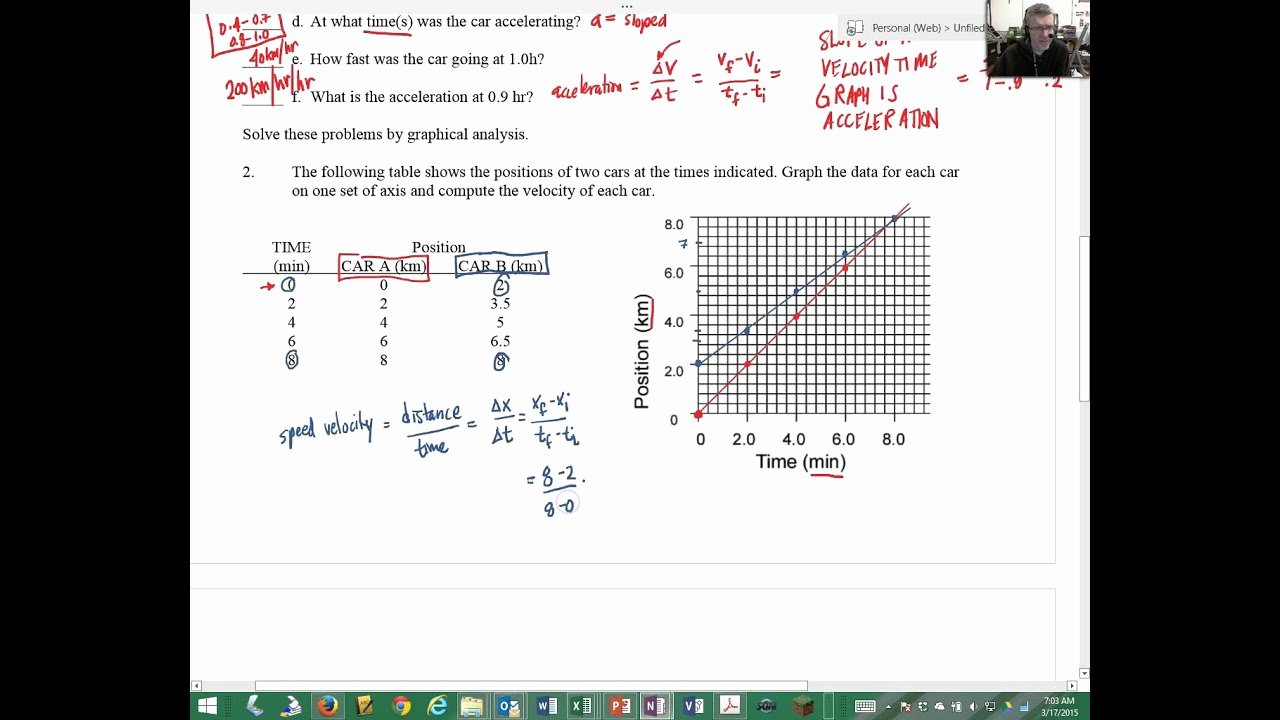 Velocity Time Graph Worksheet Answers Fresh Velocity Time Graph Worksheet