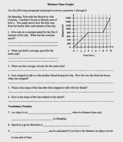 Velocity Time Graph Worksheet Answers Lovely Velocity Time Graph Worksheet