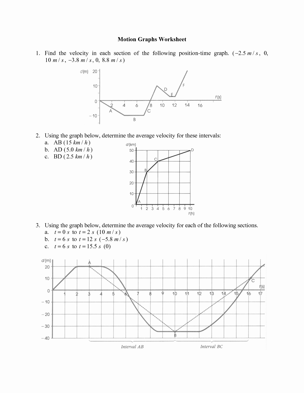 Velocity Time Graph Worksheet Luxury 10 Best Of Exponents Rules Worksheet 8th Grade