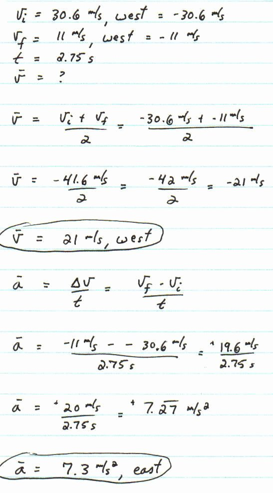 Velocity Worksheet with Answers Elegant Average Speed and Average Velocity Worksheet Answers