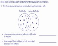 Venn Diagram Word Problems Worksheet Elegant Venn Diagram Word Problems Worksheets Two Sets