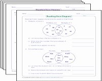 Venn Diagram Word Problems Worksheet Fresh Venn Diagram Worksheets