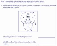 Venn Diagram Word Problems Worksheet Luxury Venn Diagram Word Problems Worksheets Three Sets