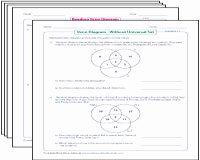 Venn Diagram Word Problems Worksheet New Venn Diagram Worksheets