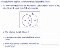 Venn Diagram Word Problems Worksheet Unique Venn Diagram Word Problems Worksheets Two Sets