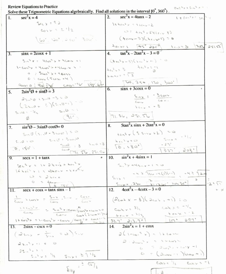 Verify Trig Identities Worksheet Unique Verify Trig Identities Worksheet Siteraven