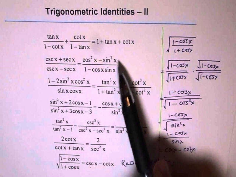 Verifying Trig Identities Worksheet Lovely Trigonometric Identities Worksheet