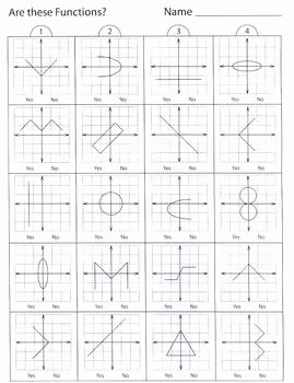Vertical Line Test Worksheet Beautiful Relations and Functions 1 Pencil Test by Kevin Wilda