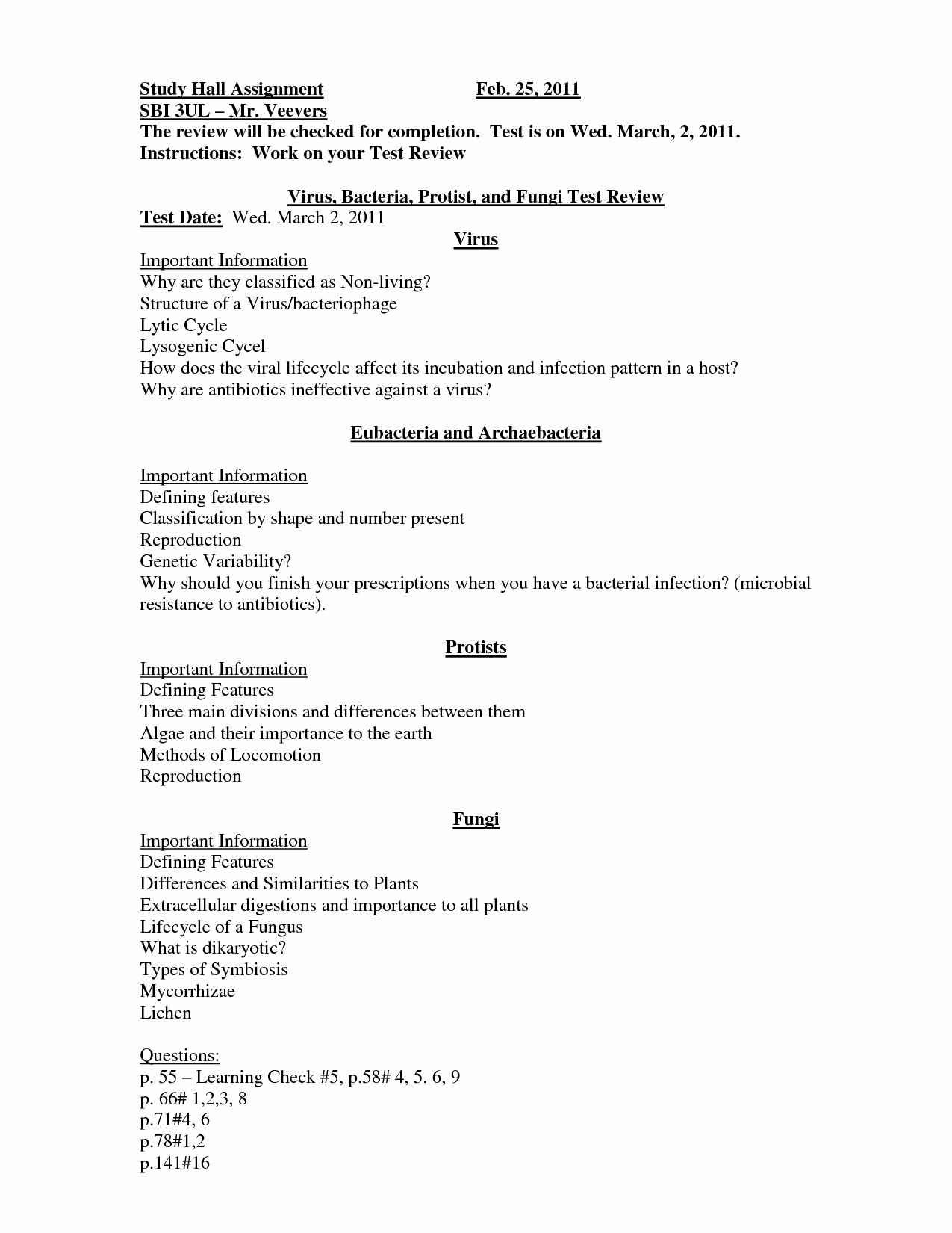 Virus and Bacteria Worksheet Elegant 14 Best Of Viruses and Bacteria Worksheets