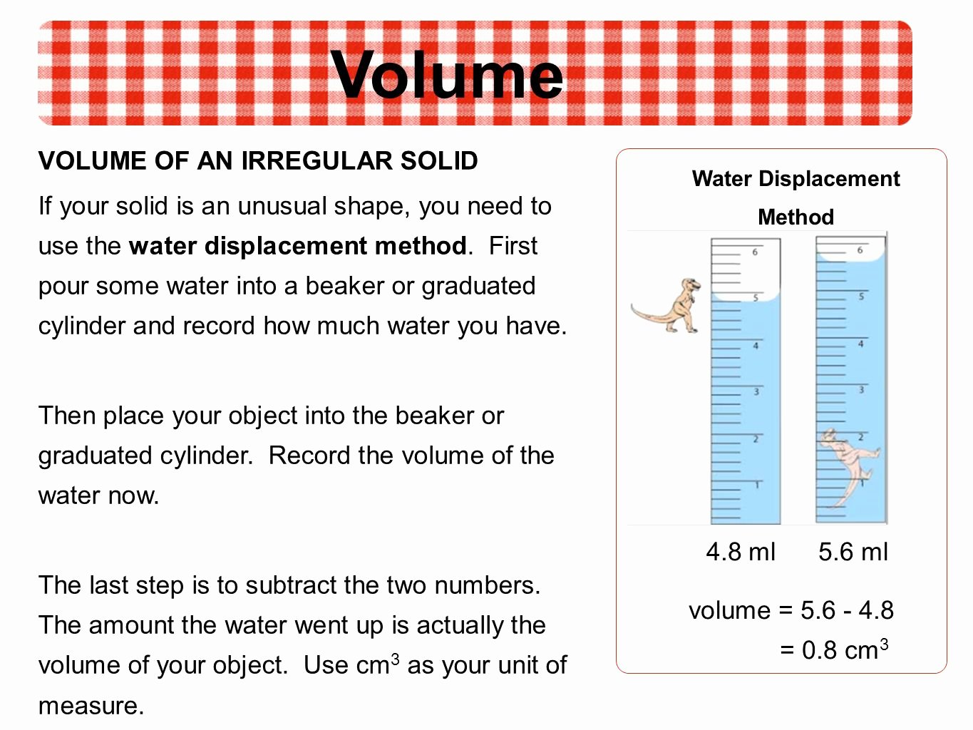 Volume by Water Displacement Worksheet Beautiful Displacement Worksheet