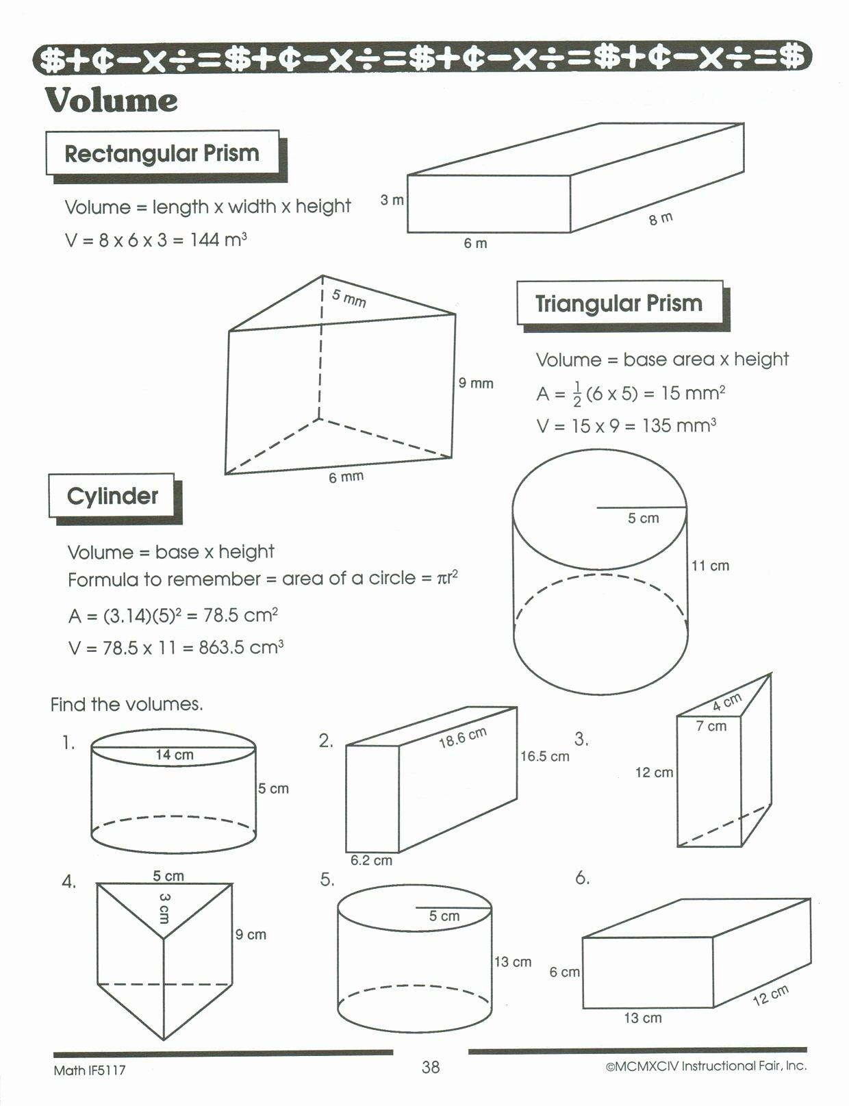 Volume Of Composite Figures Worksheet Beautiful Volume Posite Figures Worksheet 5th Grade the Best