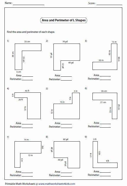 Volume Of Composite Figures Worksheet Inspirational area Posite Figures Worksheet