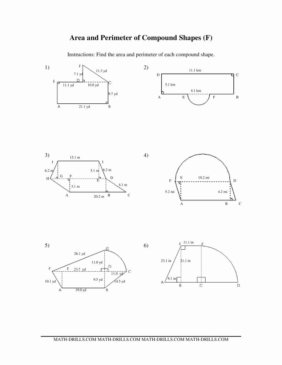 Volume Of Composite Figures Worksheet Luxury Volume Posite Figures Worksheet