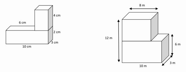 Volume Of Prism Worksheet Fresh Volume Of Non Overlapping Rectangular Prisms solutions