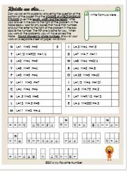 Volume Of Pyramids Worksheet New Finding Volume Of Pyramids Riddle Bundle Activity
